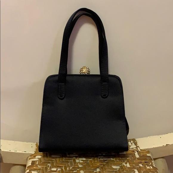 Saks Fifth Avenue Handbags - Vintage Saks Fifth Avenue Satin Evening Purse